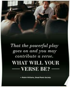That the powerful play goes on and you may contribute a verse. WHAT WILL YOUR  VERSE BE meme