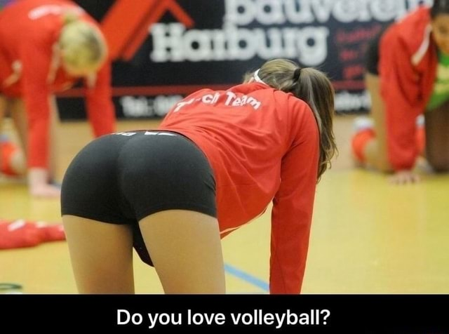 Do you love volleyball meme