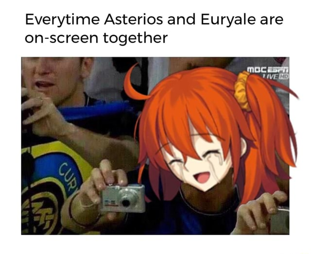Everytime Asterios and Euryale are on screen together memes