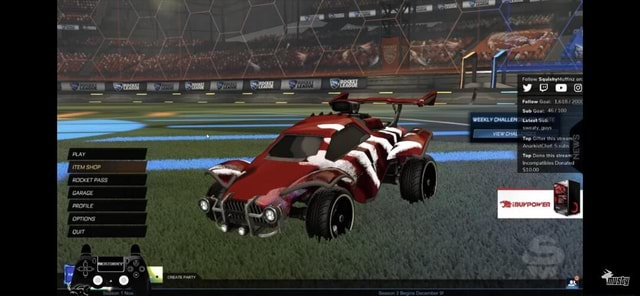 Follow SqulehyMutfinz on yooo Follow Goal 1,618 200% Sub Goal Latest Sub sweaty guys Top Gifter this stream AnarkistChef 5 subs PLAY Top Dono this stream Incompatibles Donated SHOP $10.00 ROCKET PASS GARAGE PROFILE OPTIONS Quir memes