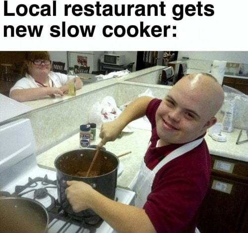 Local restaurant gets new slow cooker memes