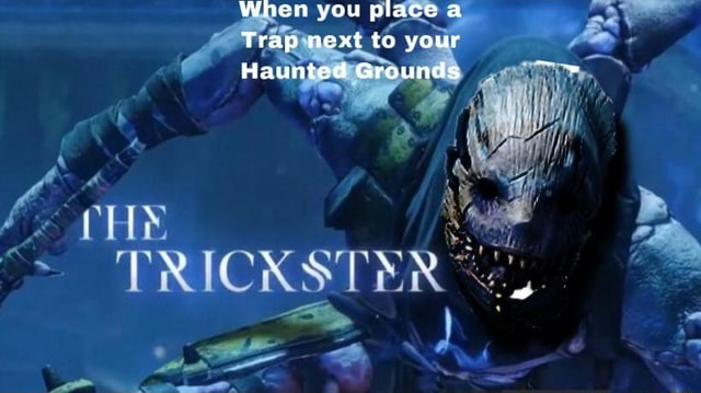 When you place a Trap next to your Haunted Grounds PRICKS meme