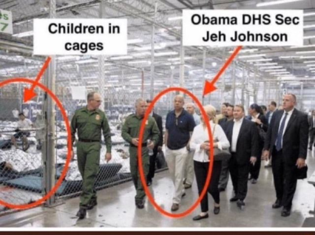 Obama DHS Sec  Children in cages Children in Jeh Johnson memes