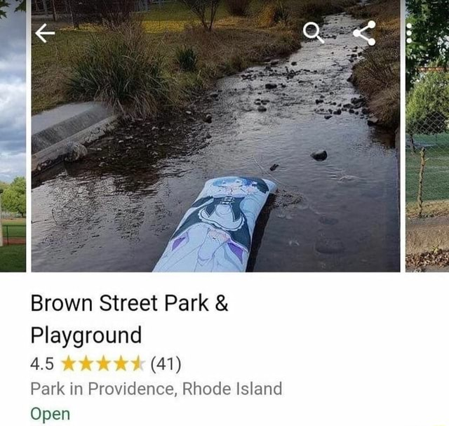Brown Street Park  and  Playground 41 Park in Providence, Rhode Island Open memes