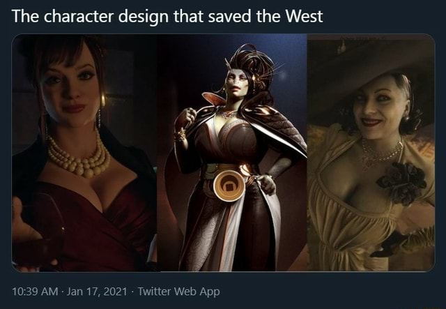 The character design that saved the West AM memes