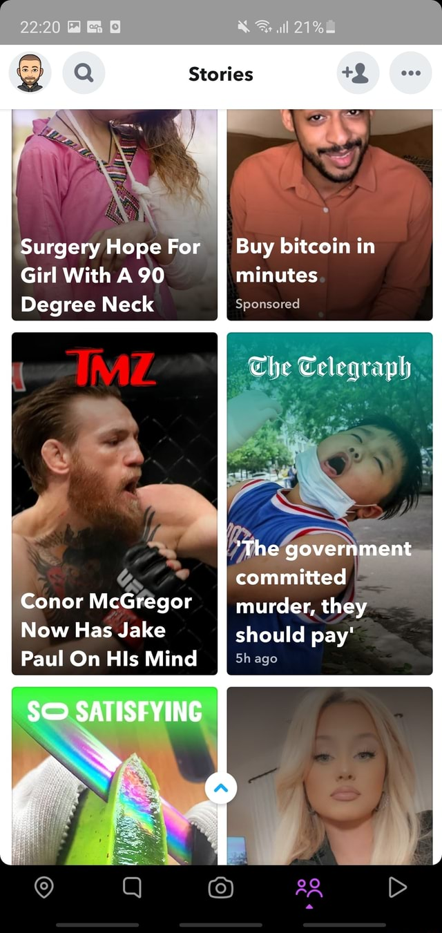 Surgery Hope For Buy bitcoin in Girl With A 90 Degree Neck Gs Conor McGregor murder, Now Has Jake Paul On HIs Mind Sh ago SATISFYING all 000 Buy bitcoin in minutes Sponsored The Telegraph The government committed murder, they should pay ago memes