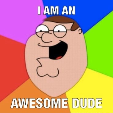 AN  a AWESOME DUDE memes