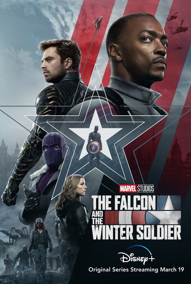 MARVEL STUDIOS THE Se SOLDIER Original Series Streaming March 19 memes