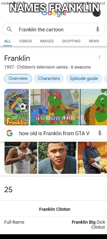 Q Franklin the cartoon ALL IMAGES SHOPPING NEWS Franklin 1997 Children's television series 6 seasons Overview Characters Episode guide how oldis Frankiin trom 25 Franklin Clinton Full Name Franklin Big Dick Clinton memes