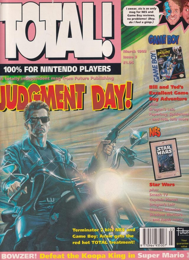 Swear, zis is ze only mag for NES and Game Boy reviews, no problemo Boy, do feel a gimp. NINTENDO Game red Boy hot TO Terminator atment I red hot TOT. 70964'935 memes
