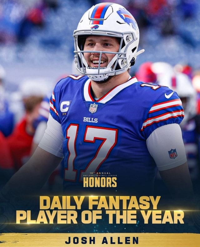 10 ANNUAL DAILY FANTASY PLAYER OF THE YEAR JOSH meme