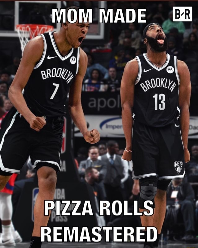 MOM MADE al PIZZA ROLLS REMASTERED meme
