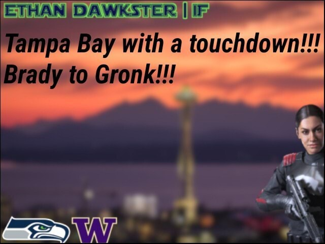 II Tampa Bay with a touchdown Gronk Brady to memes