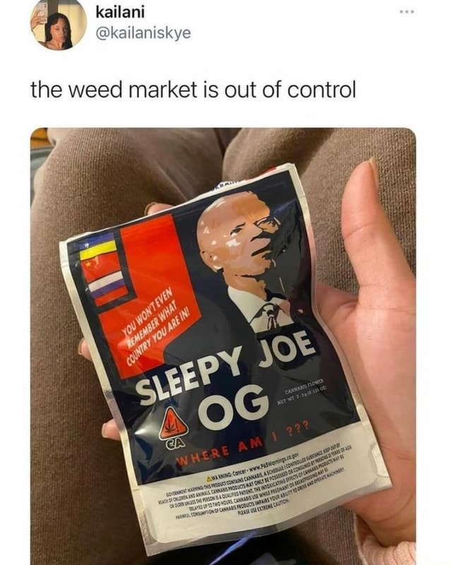 Fe katlani kailaniskye the weed market is out of control memes