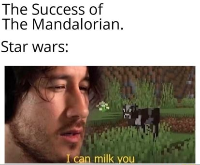 The Success of The Mandalorian. Star wars aG Leaa nulk you memes