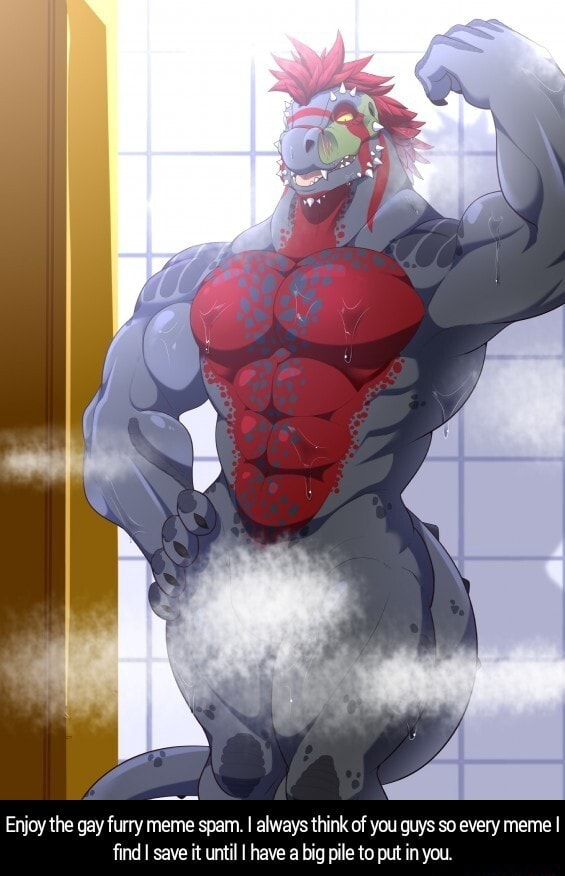 Enjoy the gay furry meme spam. I always think of you guys so every meme I find I save it until I have a big pile to put in you. Enjoy the gay furry meme spam. I always think of you guys so every meme I find I save it until I have a big pile to put in you