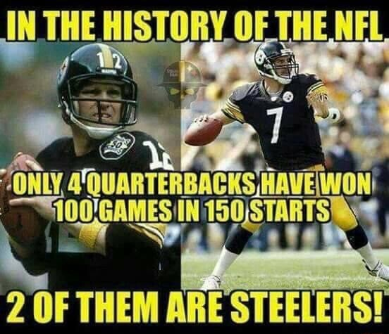 THE HISTORY OF THE NEL HAVEIWON OF THEM ARE STEELERS memes