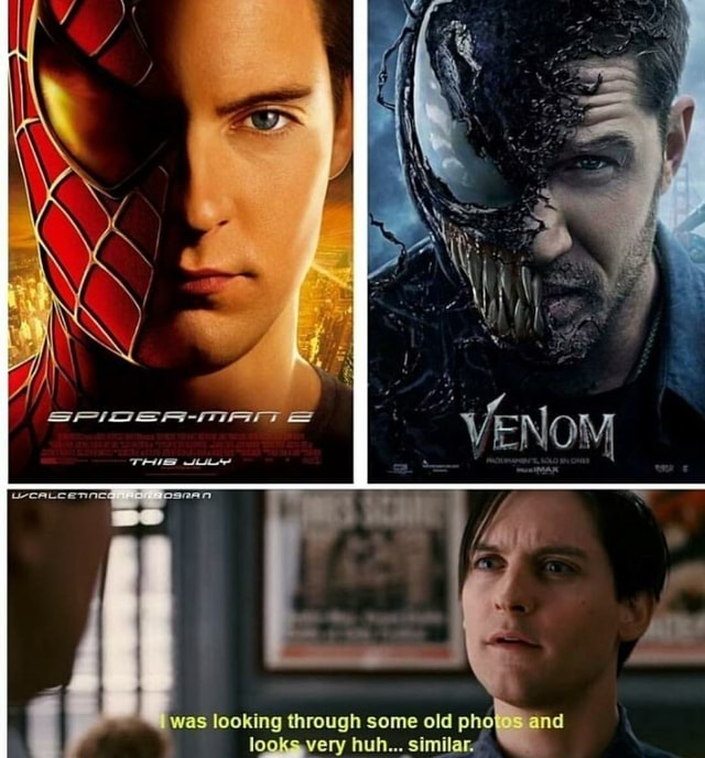 VENOM THUS was looking through some old phoI and looksvery huh Similar  memes
