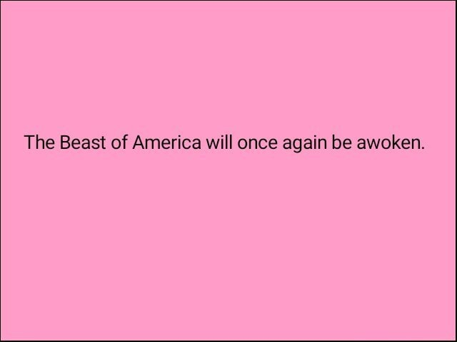 The Beast of America will once again be awoken memes