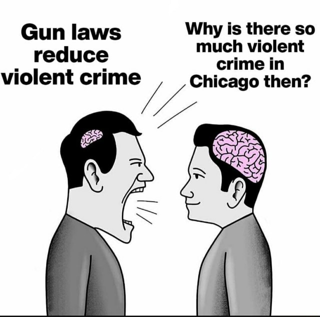 Gun Laws Why Is There So Much Violent Reduce Crime In Violent Crime Chicago  Then Memes - Video & GIFs | laws memes, why memes, much memes, violent memes,  reduce memes, chicago memes