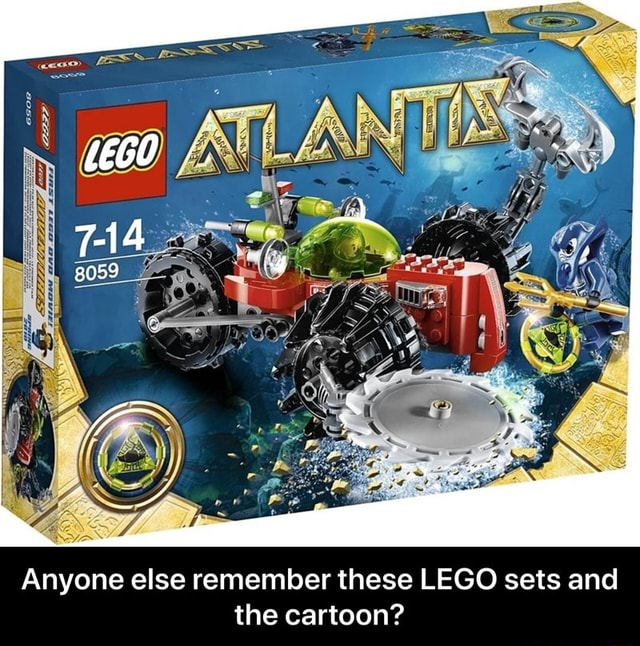 Anyone else remember these LEGO sets and the cartoon Anyone else remember these LEGO sets and the cartoon memes