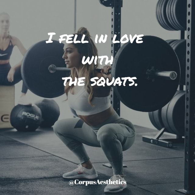 FELL IN LOVE WIT THE SQUATS. Corpus Aestheties memes