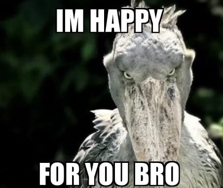 IM HAPPY, FOR YOU BRO memes