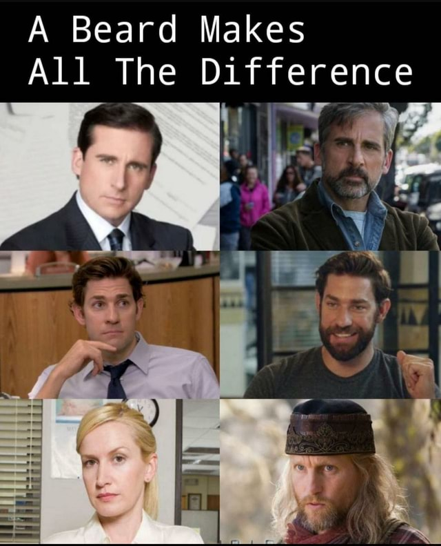 A Beard Makes All The Difference memes