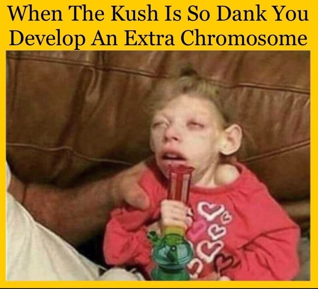 Xx6zigzag9xX When The Kush Is So Dank You Develop An Extra Chromosome memes