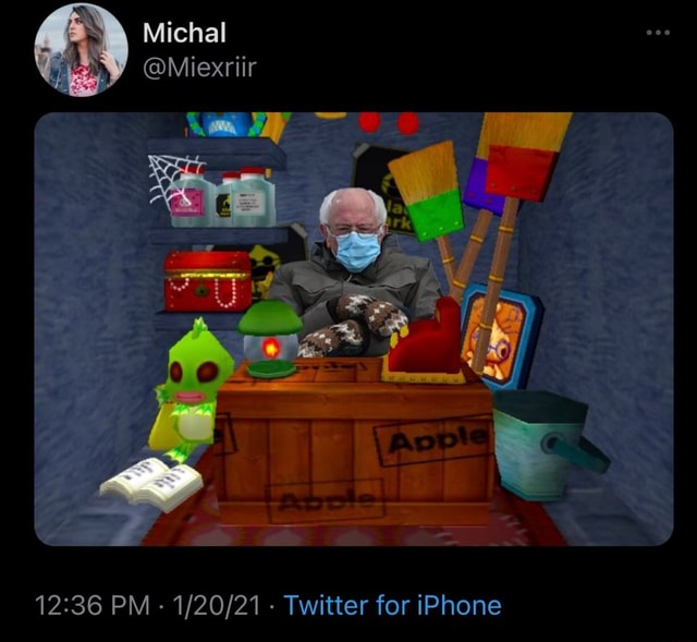 Michal OMiexriir PM  Twitter for iPhone meme