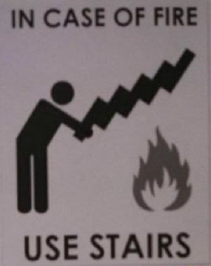 IN CASE OF FIRE ICE CTAIBS meme