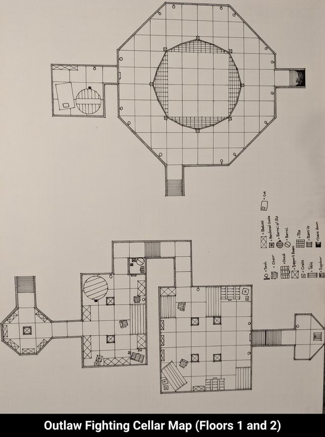 Outlaw Fighting Cellar Map Floors 1 and 2 Outlaw Fighting Cellar Map Floors 1 and 2 memes