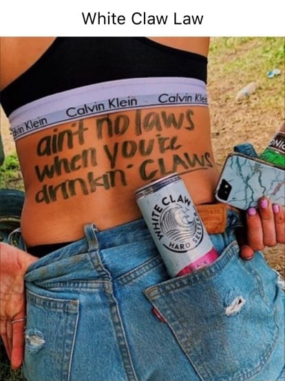 White Claw Law memes