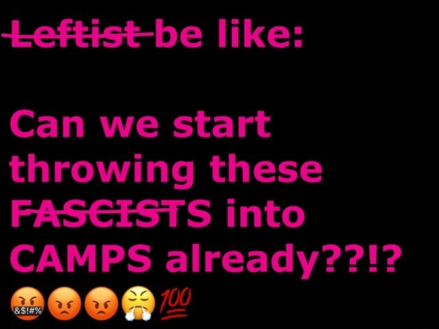 Likes Can we start throwing these FASEESTS into CAMPS already memes