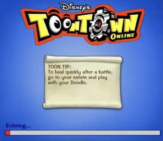 TOON TIP To heal quickly after battle,  and o to your estate and play with your Doodle memes