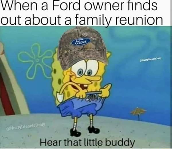 Owner nnas out about family reunion Hear that little buclely memes