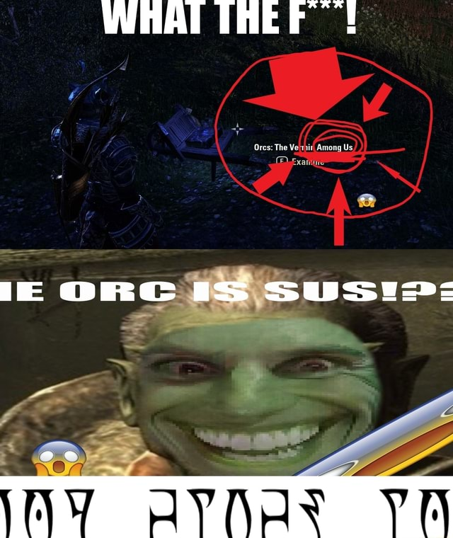 Ores The Ve Among Us, Uss memes