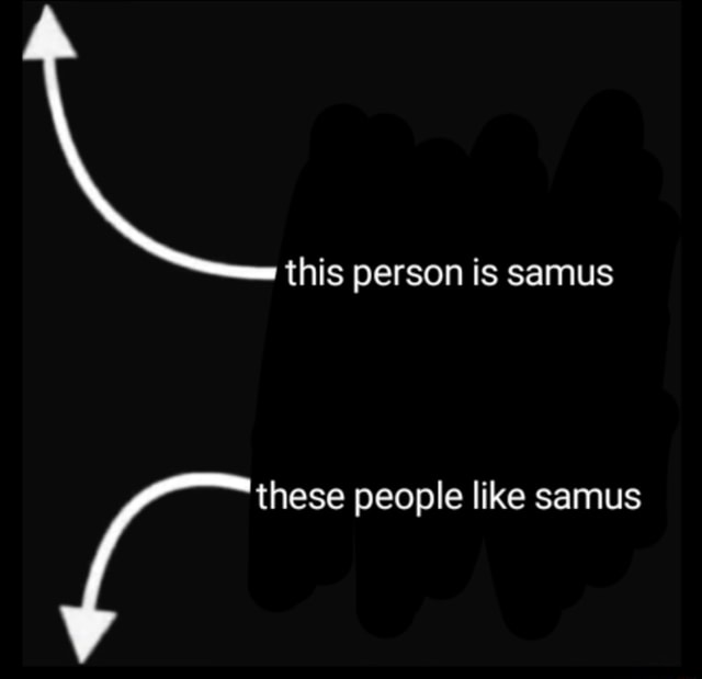 This person is samus these people like samus memes