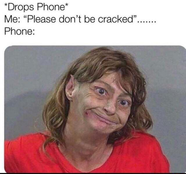 *Drops Phone* Me Please do not be cracked Phone FF memes