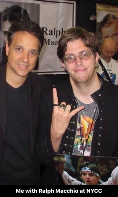 Me with Ralph Macchio at NYCC Me with Ralph Macchio at NYCC memes