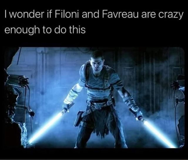 I wonder if Filoni and Favreau are crazy enough to do this SS memes