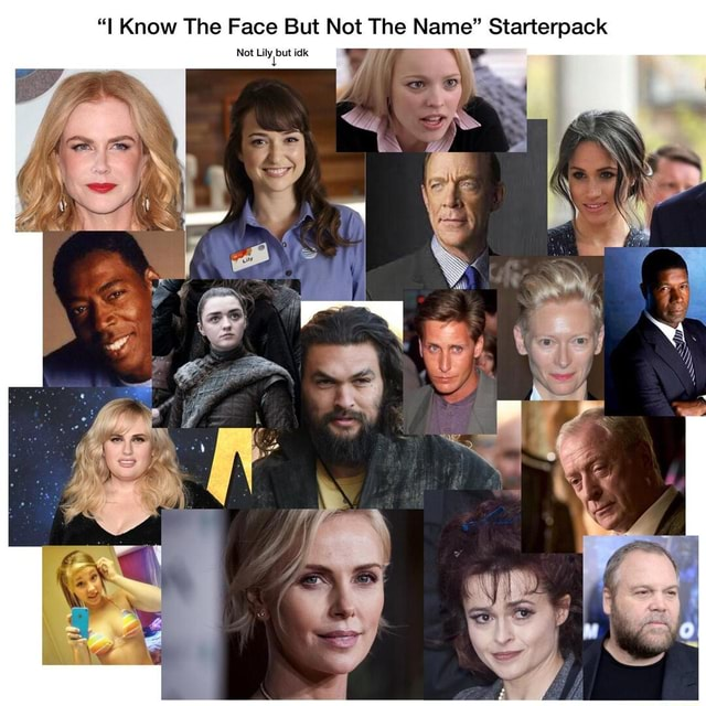 I Know The Face No ot Lily bu But ut idk Not The Name Starterpack No ot Lily bu ut idk meme