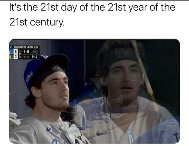 It's the 21st day of the 21st year of the 21st century meme