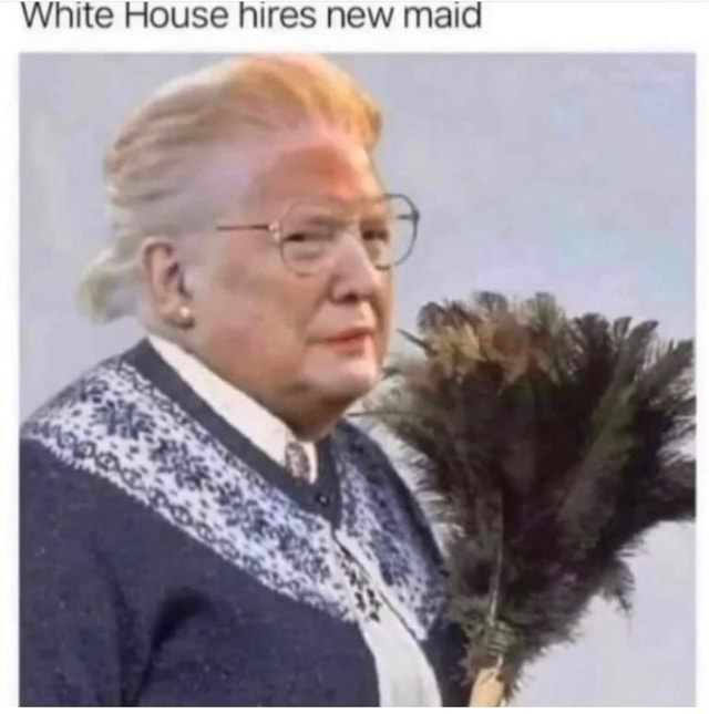 White House hires new maid memes