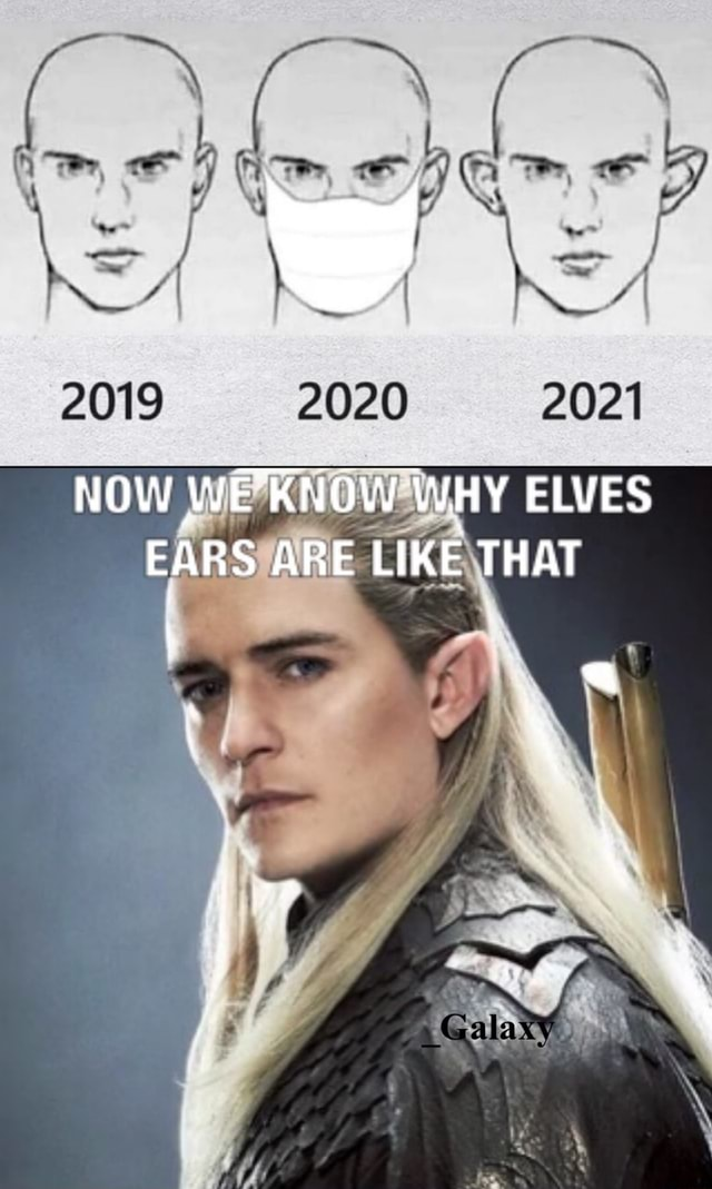 2019 2020 NOW WHY ELVES EARS ARE LIKE THAT is Galaxy meme