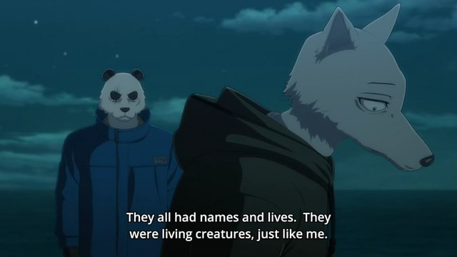 They all had names and lives. They were living creatures, just like me memes