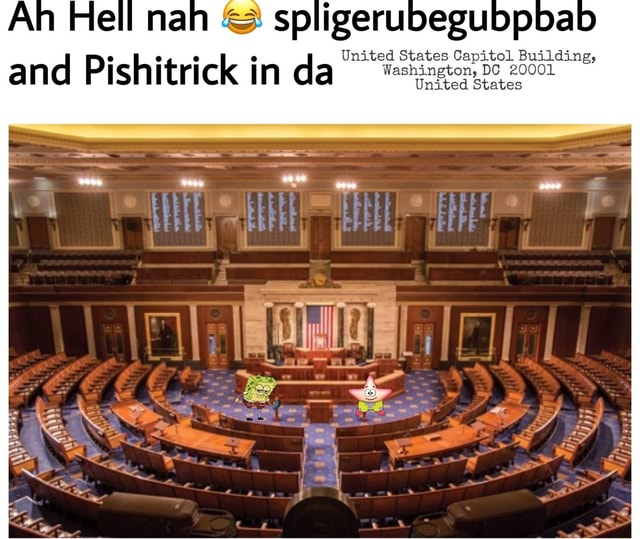 Ah Hell nah and sp and Pishitrick in da United States Capitol Building, and Pishitrick in da 200 memes