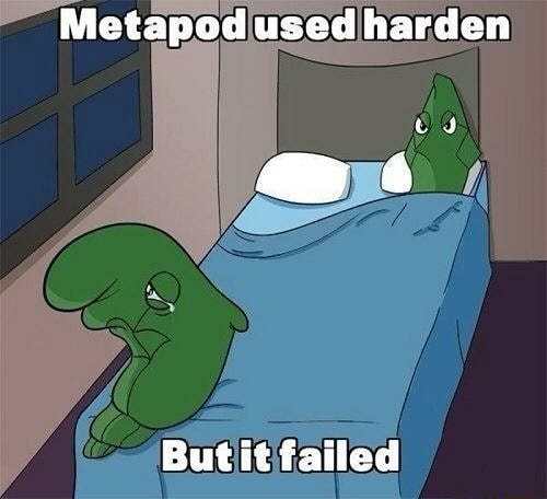 Metapod used harden But it failed memes