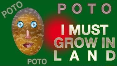 POTO MUST GROW IN LAND POTO memes