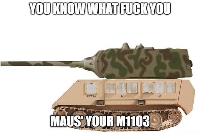 YOU. KNOWI WHAT MAUS YOUR M1103 memes